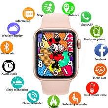 IWO14 X7 Smart Uhr Serie 6 Bluetooth Anruf Herz Rate Fitness Tracker Smartwatch Für Android IOS PK amazfit IWO 13 w26 T500 X6