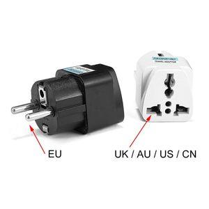 Image 5 - 1pcs Universal EU Plug Adapter International AU UK US To EU Euro KR Travel Adapter Electrical Plug Converter Power Socket