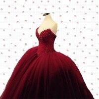 Fully Crystal Beaded Bodice Corset Royal Blue Wedding Dresses Ball Gowns Customized Made Shiny Bridal Dress vestido de renda