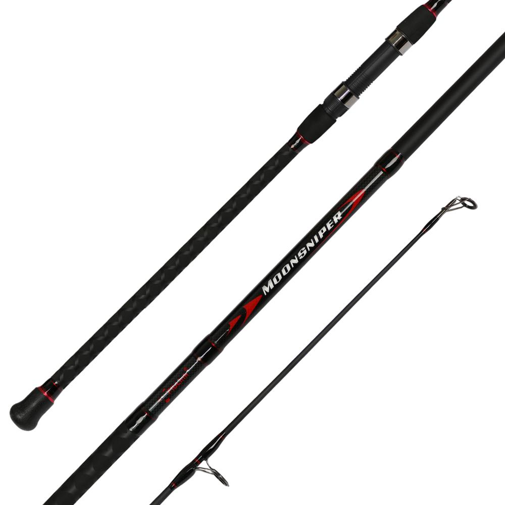 Fiblink Surf Spinning Fishing Rod 2.75m, 3m, 3.35m, 3.66m, 3.96m 2 Sections Carbon Fiber Travel Fishing Rod