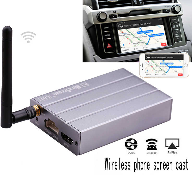 MiraScreen C1 Car HDMI TV Stick Wireless Wifi Miracast DLNA Airplay CVBS Multimedia Display Dongle Box IOS Andriod Phone to Car