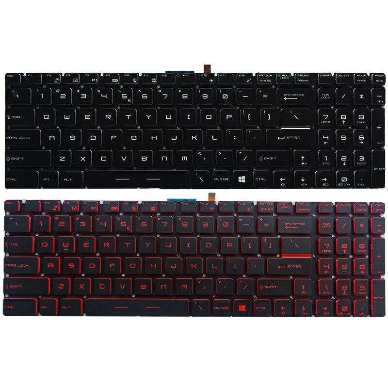 NEW US Laptop Keyboard For MSI GE63 GE73 GE63VR GE73VR US Keyboard