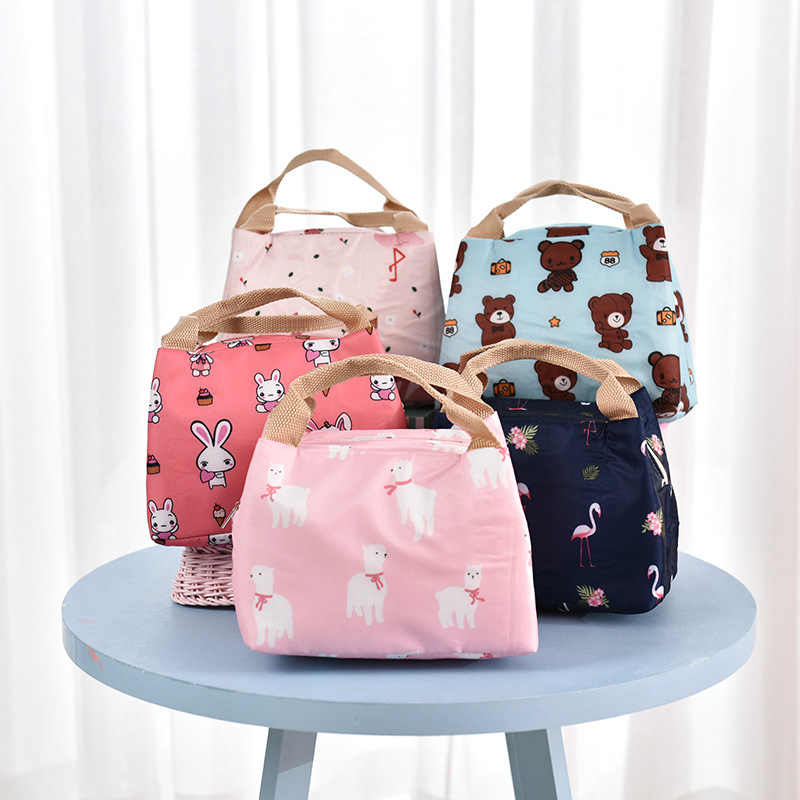 Women Men Lunch Box Tote Bag Food Fresh Thermal Insulated Lunch Bags Cooler For Boys Girls Kids School Picnic Bento Bag