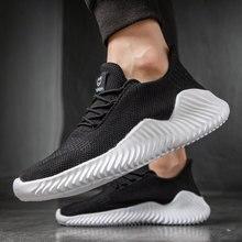 Мужские сетчатые кроссовки, дышащие, на шнуровке, светильник, Повседневная Уличная обувь для ходьбы и тенниса, большие размеры 47, 2021