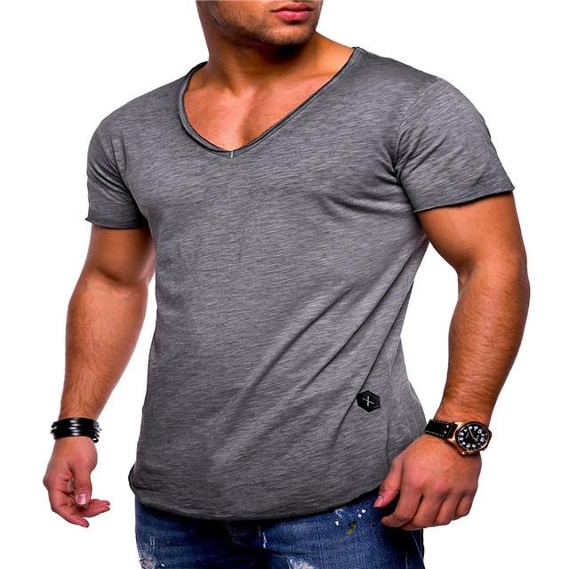 Deep V Neck Tshirt