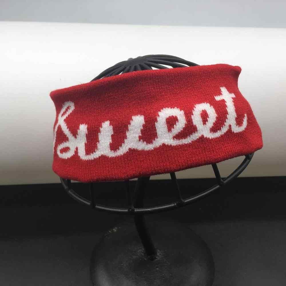 Kpop tiara de cabelo elástica, faixas de cabelo para homens e mulheres, acessórios da moda bangtan boys, presente