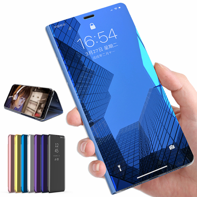 Smart Mirror <font><b>Flip</b></font> <font><b>Case</b></font> On <font><b>Honor</b></font> 7A 7C Pro UM-L41 AUM-L29 DUA-L22 <font><b>Case</b></font> Cover On Honer <font><b>Honor</b></font> 7APro 7CPro A C <font><b>7</b></font> Coque Fundas image