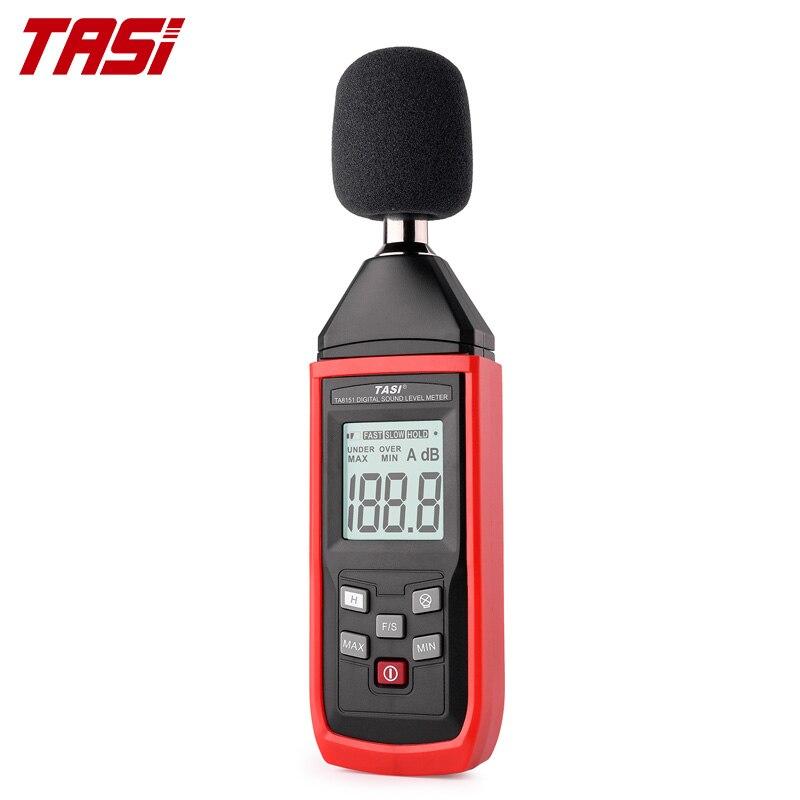 Цифровой шумомер TASI, измеритель уровня звука и шума 30-130 дБ