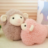 25cm Simulation Plush Sheep Toy Stuffed Animal  Lamb Doll Toys Baby Soft Toys Doll Kids Children Gift Home Decoration Craft