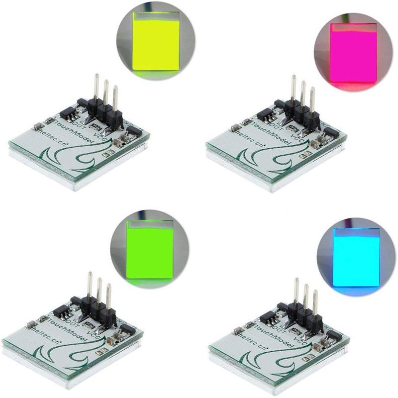 Емкостная сенсорная кнопка переключения с защитой от помех, модуль K9 HTTP M от 2,7 в до 6 в HTDS-SCR