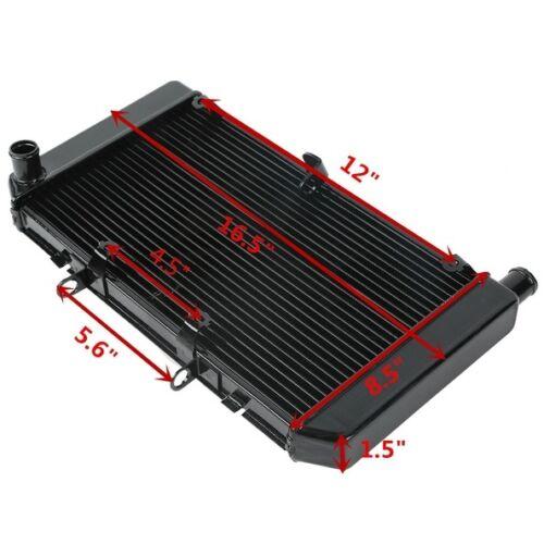 Motorcycle Replacement Radiator Cooler For HONDA CB600 HORNET CBF600 2008-2013 09 10 11 12