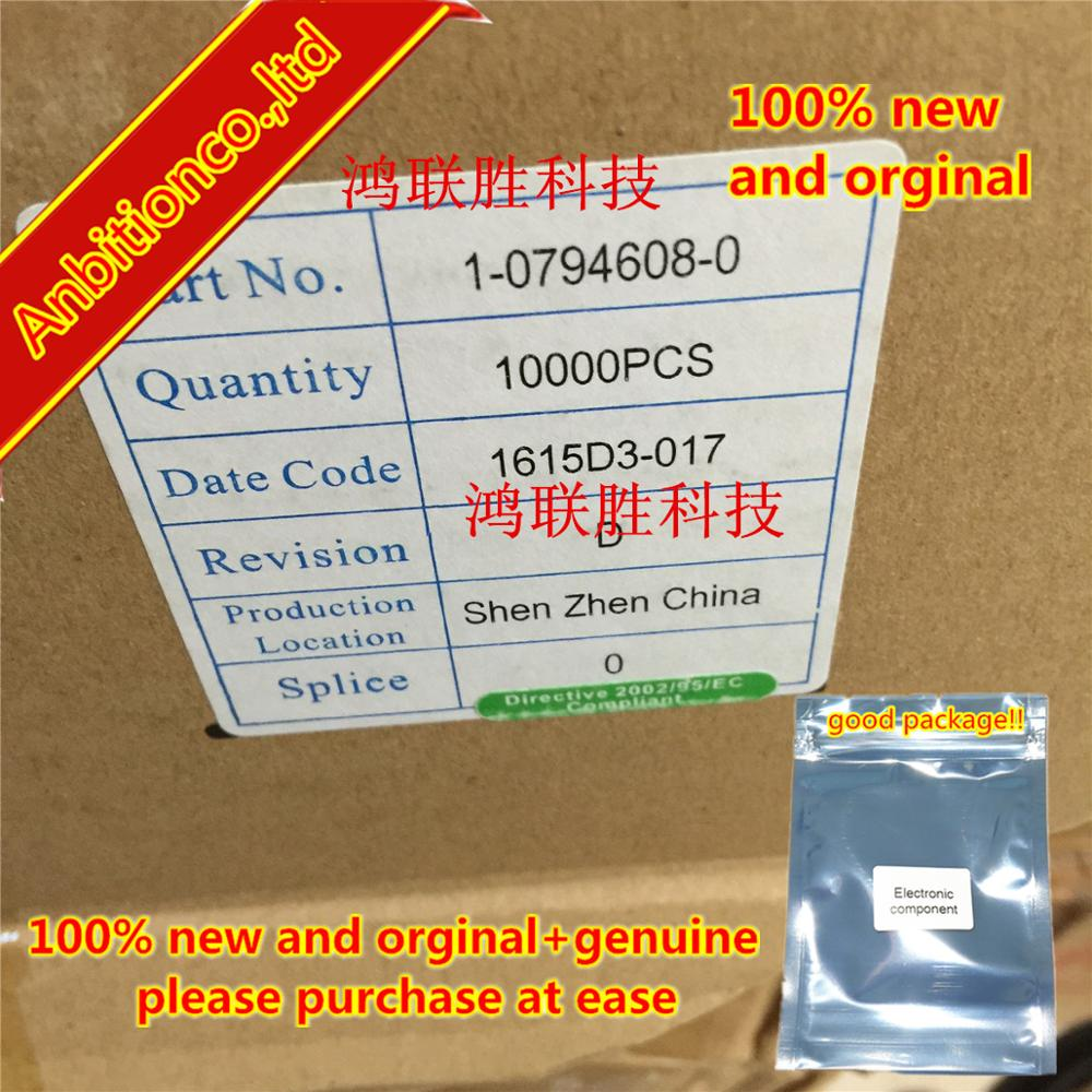 10-100pcs 100% New And Orginal Genuine Terminal Connector 1-794608-0 In Stock