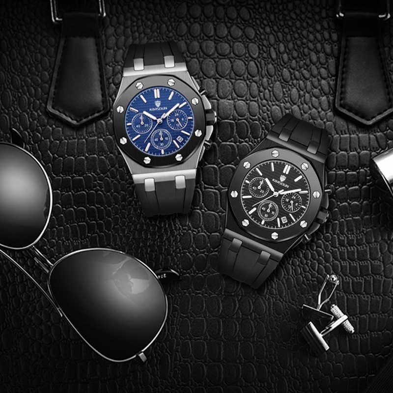 Mensนาฬิกาแบรนด์หรูผู้ชายRose Roseที่ไม่ซ้ำกันกีฬานาฬิกาควอตซ์ชายนาฬิกาวันที่นาฬิกากันน้ำนาฬิกาข้อมือนาฬิกาRelogio masculino