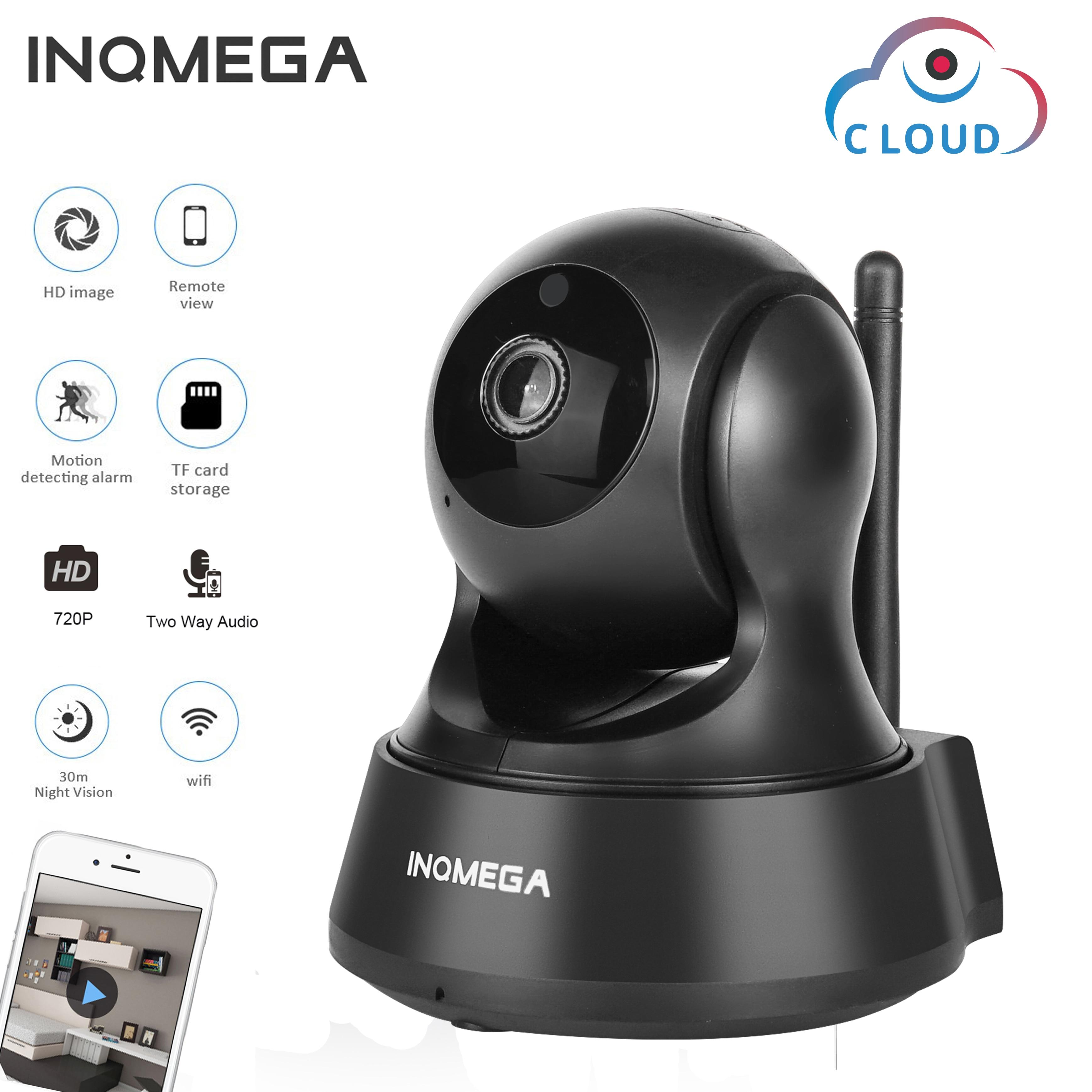 INQMEGA 720P облачная ip- камера для хранения беспроводная Wifi камера для домашней безопасности CCTV сетевая камера ночного видения детский монитор
