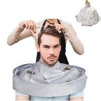DIY ścinanie włosów płaszcz parasol cięcia stylizacji płaszcz parasol Wrap golenie fartuch fryzjerstwo Cape szmatka fryzjer gospodarstwa domowego w Fartuchy od Dom i ogród na