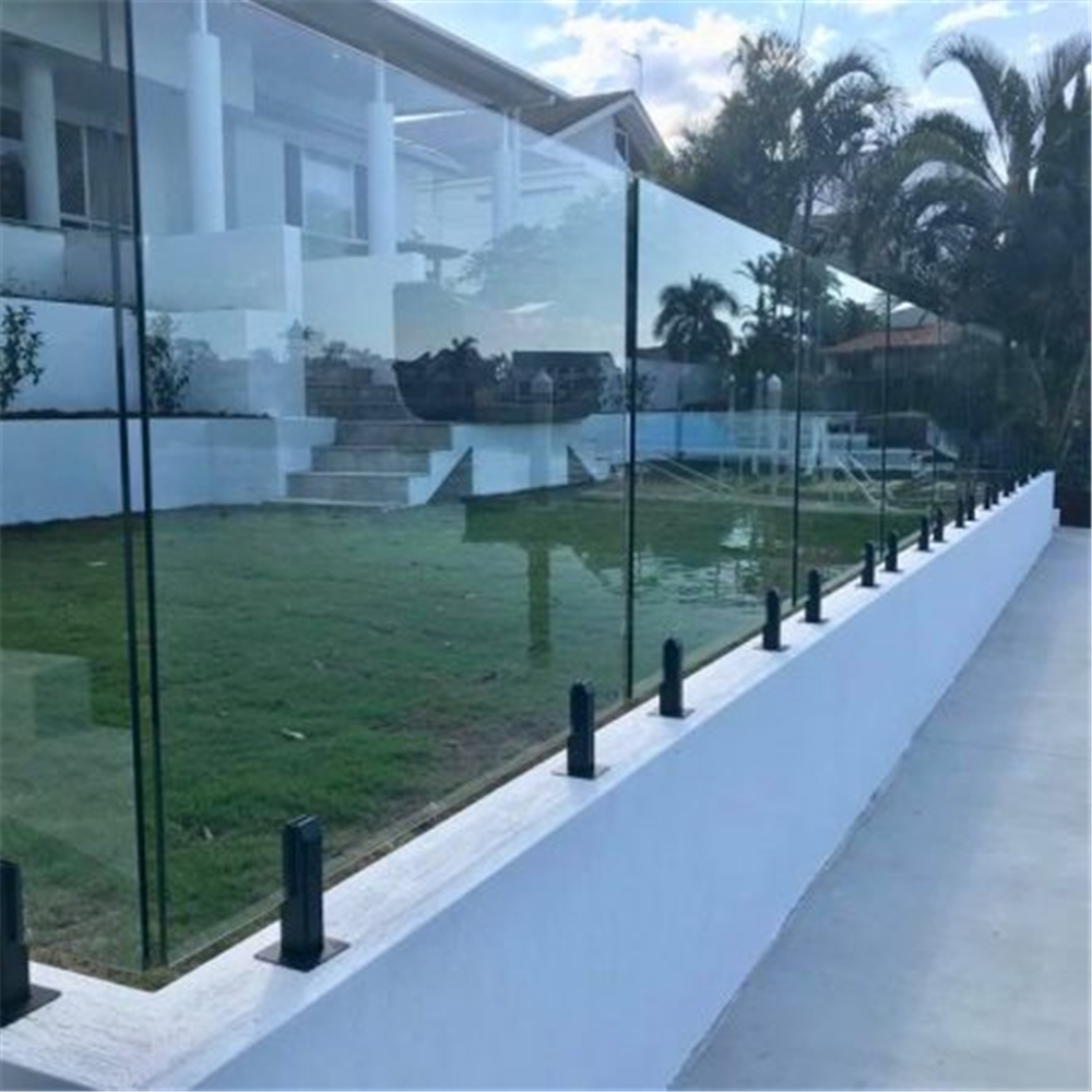 2205 Duplex Stainless Steel Frameless Clear Glass Pool Fencing Matt Black Spigots Glass Clamps Aliexpress