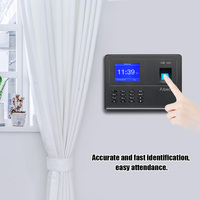 Biometric Fingerprint Password Attendace Machine Employee Checking in Recorder Multi language Support USB Disk Data Download|Time Recording| |  -