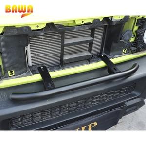 Image 2 - Bawa amortecedor dianteiro do carro grills spotlight grade dianteira farol suporte suporta acessórios fora de estrada para suzuki jimny 2019 2020 +