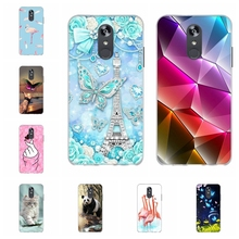For LG Q Stylo 4 Stylus Case Soft TPU Silicone Cover Cute Cat Patterned Plus Shell