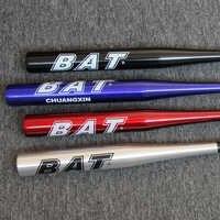 Hohe Strenght Ausbildung Softball Baseball Bat Stick Aluminium Baseball Bat Hard Ball 20 zoll Schwarz Silbrig Blau Rot taco de basebo