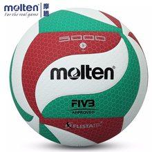 Molten – boule de Volley-Ball originale V5M1500/V5M5000, taille officielle, avec sac à billes, pour entraînement en intérieur et en extérieur