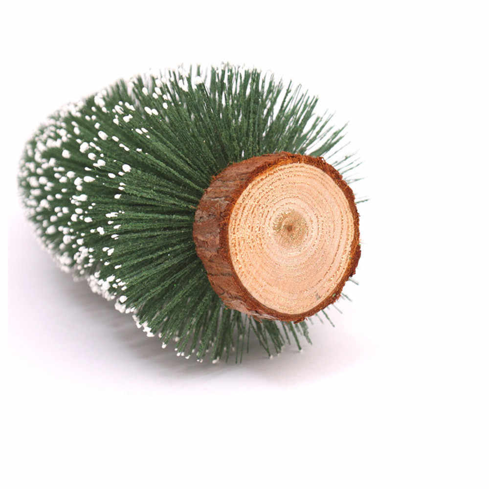 MINI Christmas Tree 10/15/20/25/30 ซม.สีขาว Cedar Pines เดสก์ท็อปตกแต่ง Xmas Tree หน้าแรกตารางเครื่องประดับ Arbol Navidad