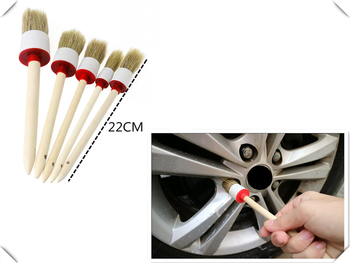 Universal car beauty brush detail center console corner cleaning style for BMW M5 M2 X6 M6 640i 640d 335d M1 M-Zero 545i 530xi image