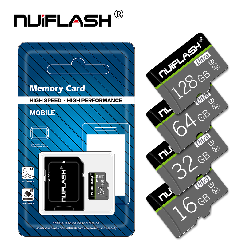Micro-Sd-Card Camera Smartphone Laptop 32GB Flash UHS-1 64GB/128GB New Class10