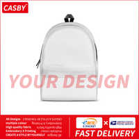 2020 New Solid Color Cotton Bags Fashion All-match DIY Custom Graphic Backpacks Simple Private Design Print Logo Book Pouch DX