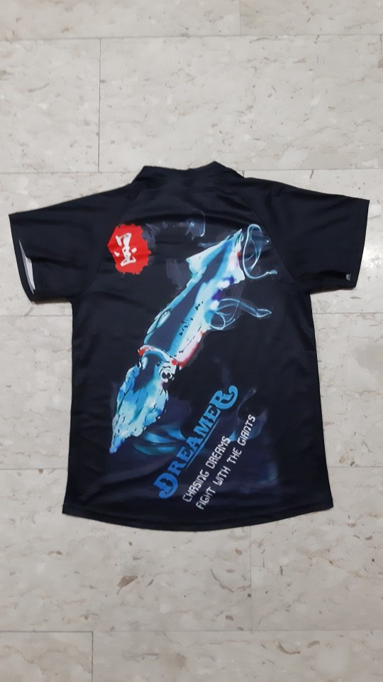 Gamakatsu tshirt marca roupas de pesca secagem