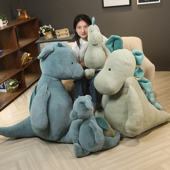 new style cute small dinosaur doll soft plush toys stuffed animal plush doll toy children toys boys birthday gift 2020 New 60cm Soft Dinosaur Plush Toy Stuffed Animal Dinosaur Doll Pillow Birthday Gift For Children