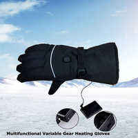 Outdoor Protective Gloves USB Heating Gloves Multi-Color USB Warm Heating Non-disposable Work Half Finger Knitting Gloves DST045