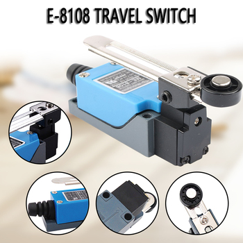 Waterproof ME-8108 Momentary AC250V 5A Limit Switch For CNC Mill Laser Plasma Rotary Adjustable Roller Lever Arm Limit Switch image