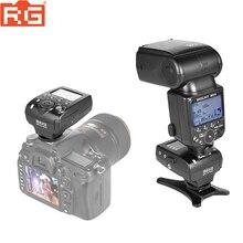 Meike MK 910 MK910 TTL 1/8000 s HSS Sync Master & Slave flaş speedlite + Flaş tetik için Nikon SB 910 SB 900 D7100 DSLR Kamera