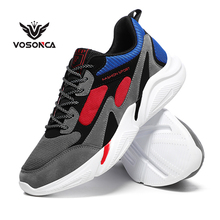 Vosonca New Mesh Shoes Men Casual Outdoor Sports Comfortable Breathable  Cushioning Walking Sneakers Tennis shoes