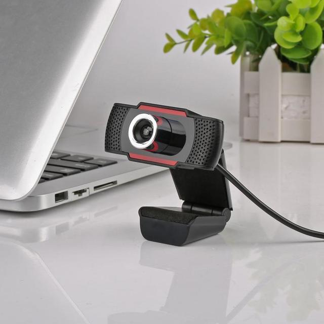 2020 New USB Computer Webcam Full HD 720/1080P Webcam Camera Digital Web Cam With Micphone For Laptop Desktop PC Tablet 6