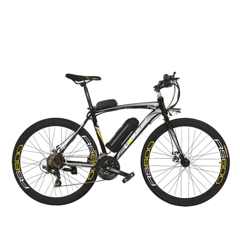 RS600 Leistungsstarke Elektrische Fahrrad, 36V 20A Batterie Ebike, 700C Straße Fahrrad, Sowohl Disc Bremse, aluminium Legierung Rahmen, Mountainbike