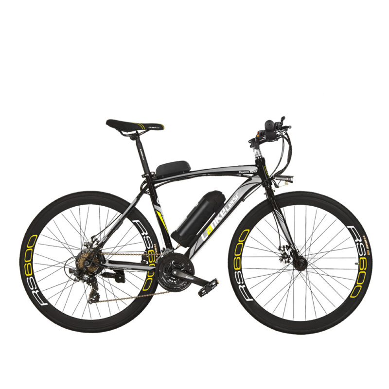 RS600 potężny rower elektryczny, akumulator 36V 20A Ebike, rower szosowy 700C, oba hamulce tarczowe, ramka ze stopu aluminium, rower górski