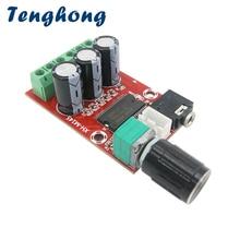 Tenghong YDA138 Eデジタルオーディオアンプボード12ワット * 2ステレオデュアルチャネルamplificador diyサウンドシステムスピーカーホームシアター