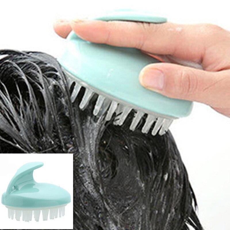 Silicone Head Hair Washing Comb Body Massager Shampoo Scalp Massage Brush Body Shower Brush Bath Spa Slimming Massage Brush