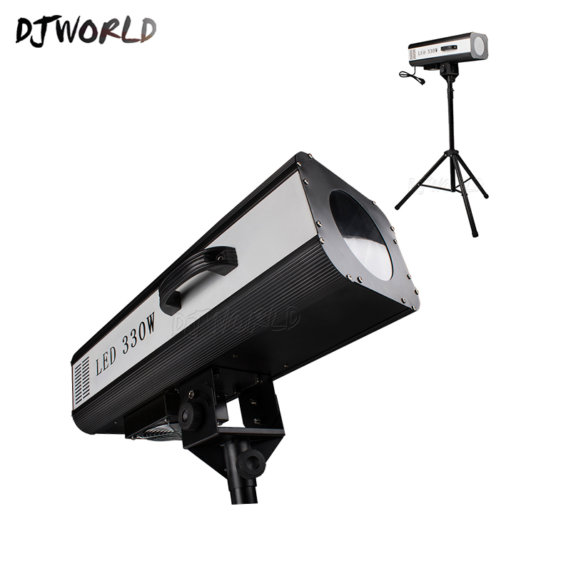 Djworld Top Selling LED 330w Follow Spotlight High Power Intelligent Adjustment Automatic For Wedding Dj Disco Decoration Excite