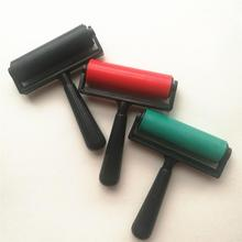 10cm Printmaking Rubber Roller Soft Brayer Craft Projects Ink And Stamping Tool Painting