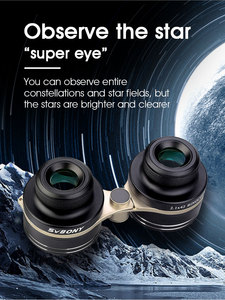 Image 5 - SVBONY SV407 2.1x42mm 26 Degree Super Wide Binoculars Astronomical Telescope for Stellar observation and Theater Perform