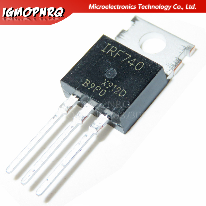 10pcs Free Shipping IRF740 IRF740PBF MOSFET N-Chan 400V 10 Amp TO-220 New Original
