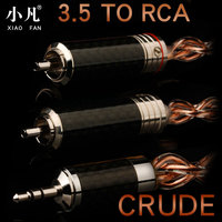 Xiao Fan D20 RCA Audio Cable Amplifier Connection Line 3.5mm to 2RCA For The An on board/speakers/ Home Theater /DVD / PC