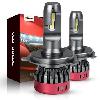 NLpearl 2x H4 żarówki Led do reflektorów Super jasne chipy CSP 12000ML 56W 6000K H7 Led H1 9005 HB3 9006 HB4 9012 H11 H8 H9 reflektor tanie i dobre opinie CN (pochodzenie) Universal 12 v 6000 k 56W Set 26W PCS H1 H4 H7 H8 H9 H11 HB3 9005 HB4 9006 HIR2 9012 LED Bulbs Super Bright Upgrade CSP Chips
