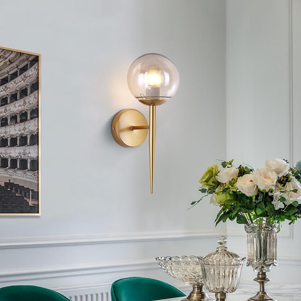 Appliques pour la maison chambre lampe aplique luz pared lampara pared or noir appliques murales luces led decoracion luminaires