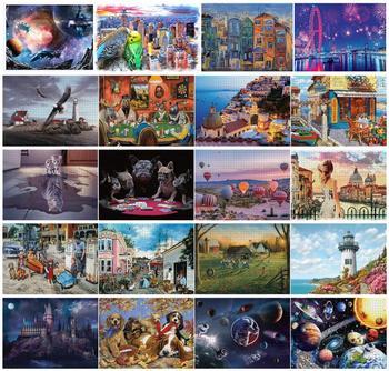 Gorąca sprzedaż Puzzle 1000 sztuk Puzzle dla dorosłych Puzzle Puzzle Adulto zabawki edukacyjne 1000 sztuk Puzzle zabawki dla dzieci prezent tanie i dobre opinie CN (pochodzenie)