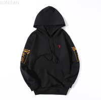Chinese style stranger things hoodies off white hip hop for men Hat shirt sudaderas Harajuku streetwear Men's Wear in Autumn