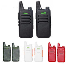 2 pces wln KD-C1 mini handheld transceptor kd c1 rádio em dois sentidos rádio ham comunicador estação de rádio mi-ni walkie talkie